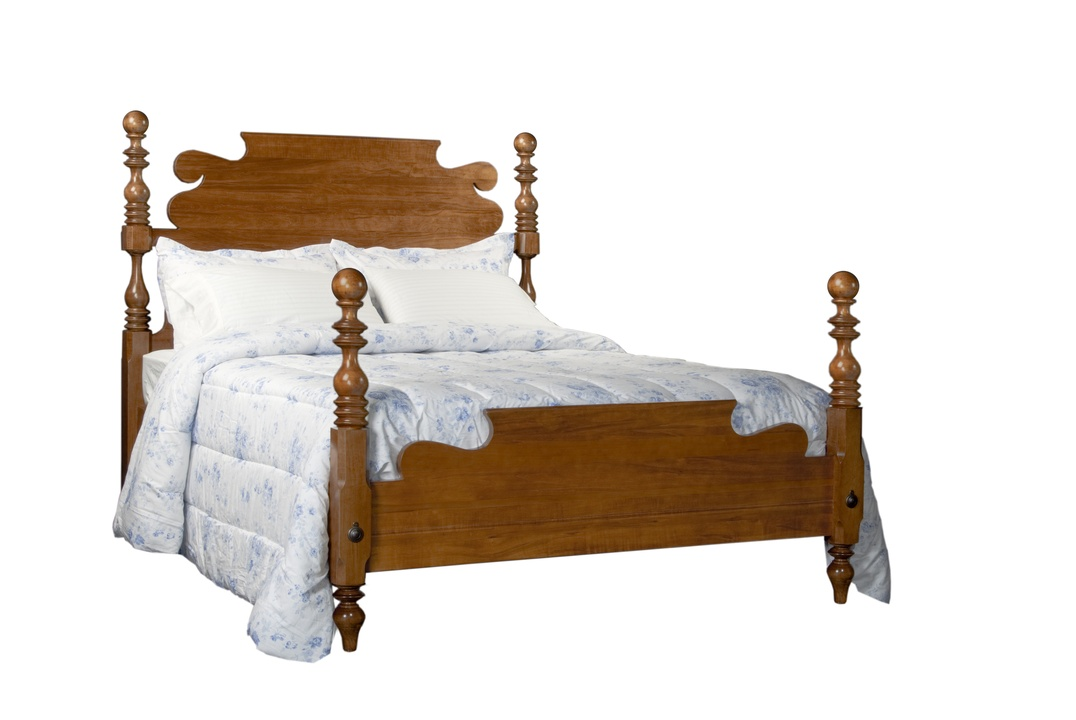 Queen Cannonball Bed | Durham Furniture