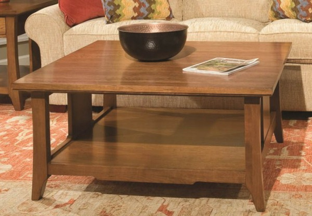 westwood square cocktail table | durham furniture